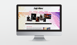 Sofi Mari website & branding